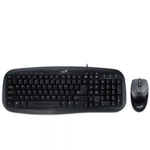TECLADO Y MOUSE OPTICO USB BLACK KM200