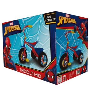 TRICICLO MID SPIDERMAN