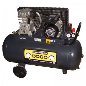 COMPRESOR 100L 2HP DOG50340