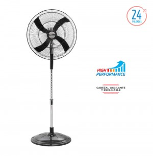 "VENTILADOR DE PIE 24"" HIGH PERFORMANCE VPHP2416"