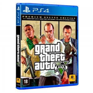 JUEGO PARA PS4 GRAND THEFT AUTO V PREMIUM EDITION